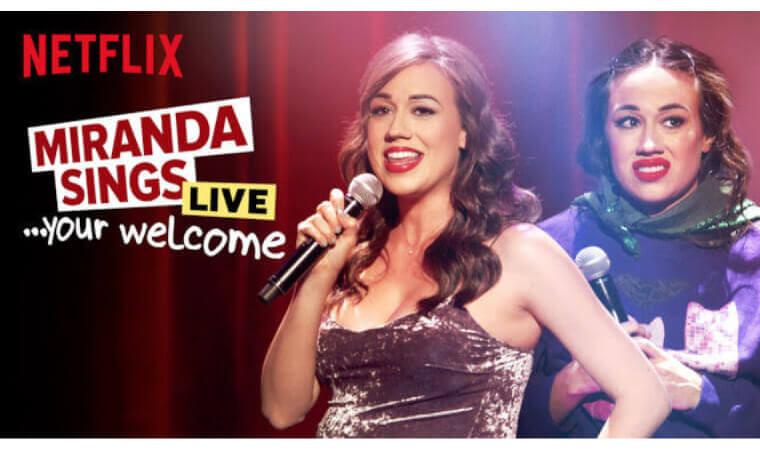 【ミランダ・シングス・ライブ:お礼はいらないわよ!】Netflix作品を今すぐ視聴