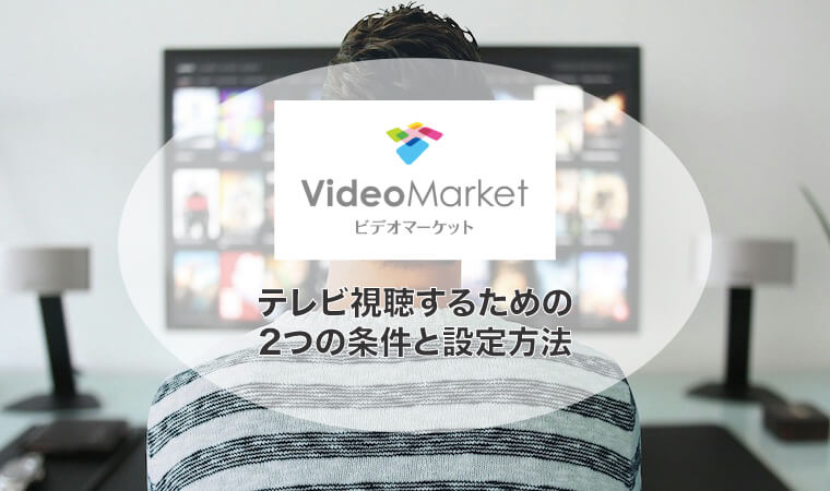 ビデオマーケット テレビ