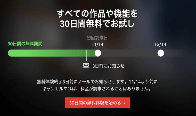 Netflix 無料